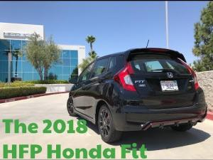 2018 Honda Fit With a New Sport Trim, HFP Package & Standard Sensing